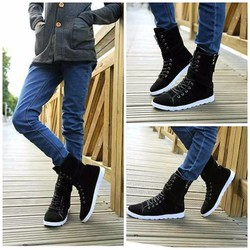 giày boot nam cao cổ 2017