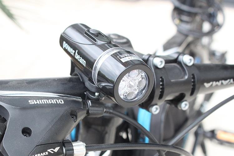 Đèn pin gắn xe đạp 7
