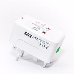 Ổ Cắm  Điện Đa Năng Du Lịch có cổng sạc USB Universal Travel Adapter