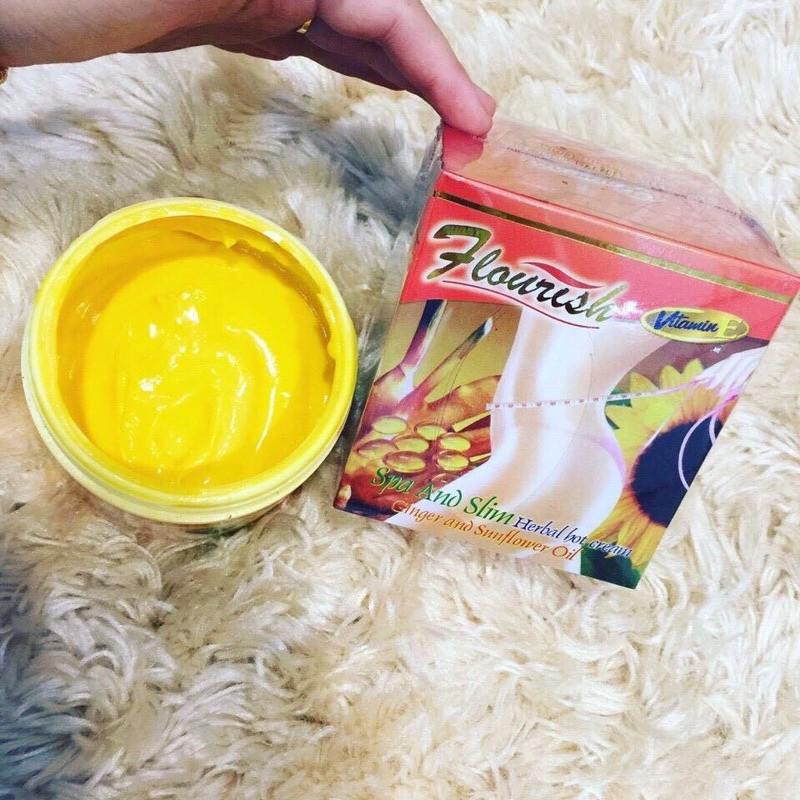 Kem Tan Mỡ Bụng Gừng Ớt Flourish Thái Lan 500ml 1