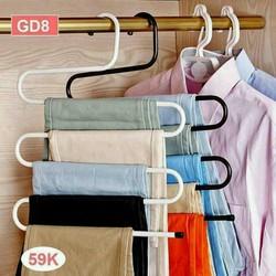 Móc treo quần áo 5 tầng tiện ích