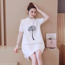 Đầm suông đẹp chuẩn phong cách Hàn