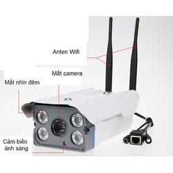 Camera IP Yoosee X5300 không dây wifi ngoài trời hồng ngoại