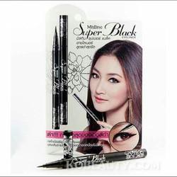 Bút kẻ mắt dạ Mistine Super Black Thái Lan