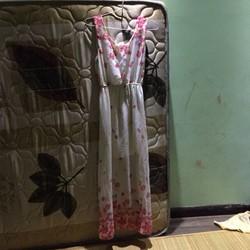 váy maxi hoa