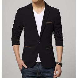 Áo khoác vest nam phối túi - LV1202