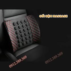 Đệm tựa lưng massage trên ghế ô tô