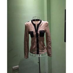 áo len ren