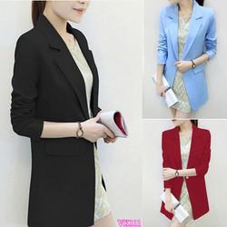 Áo khoác nữ Blazer form dài sành điệu VK111