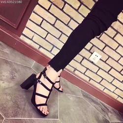 giay sandal got vuông hàng VNXK-pll1734