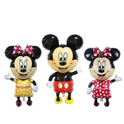 Bóng hình Mickey áo bi đại