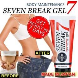 Kem tan mỡ Seven 7 Break của Nhật Bản