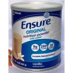 Sữa bột Ensure Powder Vanilla 397g từ Mỹ