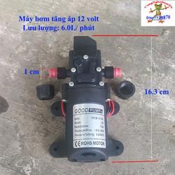 Máy bơm tăng áp 70w 12 volt  6Lit tự động ngắt