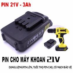 PIN 21V cho máy khoan cầm tay