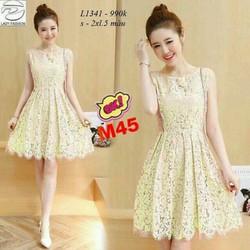 Đầm ren xoè siêu xinh