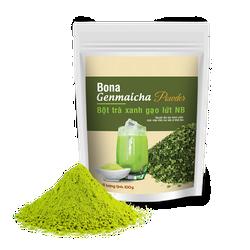 Bona Genmaicha Powder – Bột Trà Xanh Gạo Lứt Nhật Bản