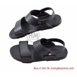 Dép cao su - đế đúc -  cực bền - Giày sandal học sinh - HCMC-11A