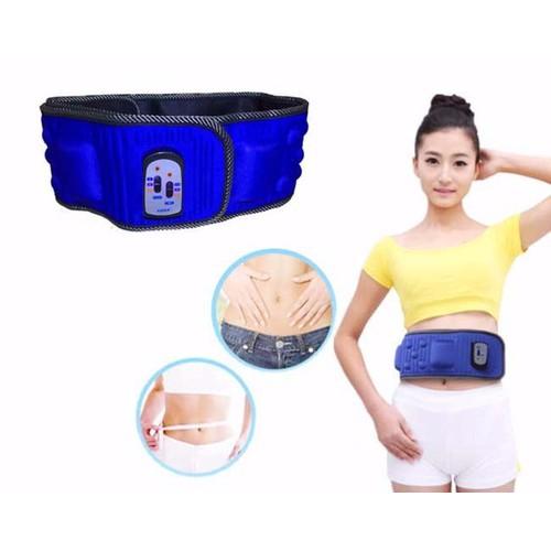 Đai massage bụng 5x X5, nóng và rung giảm eo mỡ bụng