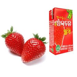 Sữa Dâu Hàn Quốc Sahmyook190ml-hộp