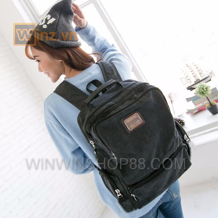 Balo thời trang cao cấp BL21 Đen cung cấp bởi Winwinshop88 9