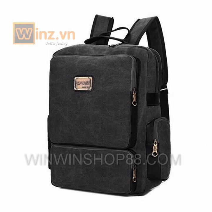 Balo thời trang cao cấp BL21 Đen cung cấp bởi Winwinshop88 7