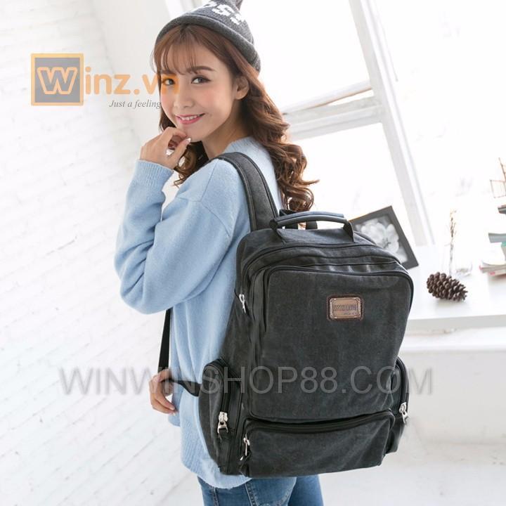 Balo thời trang cao cấp BL21 Đen cung cấp bởi Winwinshop88 4