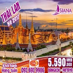 Tour du lịch Thái Lan Giá Rẻ 2017