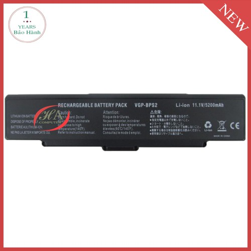 Pin Laptop Sony VAIO VGN-SZ280PC