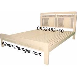 giường sắt cao cấp LG_03A 1m4x2m, giao hàng miễn phí TP.HCM