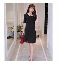 Hàng nhập đầm suông tay lỡ Style Hàn Quốc