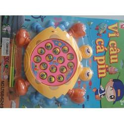Bộ đồ chơi câu cá pin cho bé, thú vị và vui nhộn