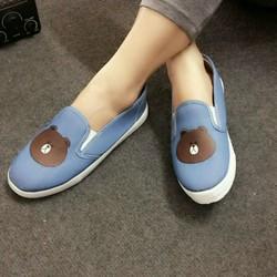 Giày slip on nữ mẫu mới size 38