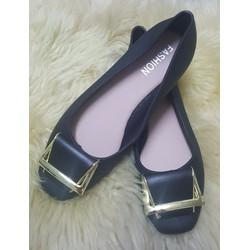 Giày búp bê nhựa thời trang