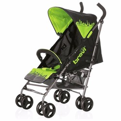 Xe đẩy du lịch cho bé Brevi Marathon màu xanh lá BRE763-246