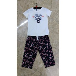 Set áo hoa + quần lửng