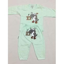 Bộ quần áo dài hình Panda - set 5 bộ