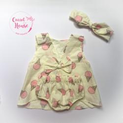 Set nơ lưng cho bé gái từ 6 tháng đến 2 tuổi