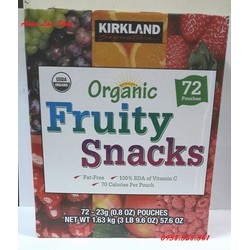 Kẹo Dẻo Trái Cây Kirkland Fruit Snacks, Mỹ