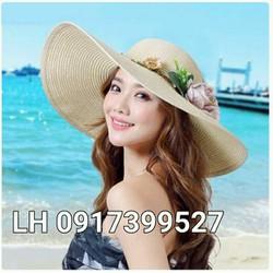 mũ rộng vành nón rộng vành đi biển chống tia UV K79RV343