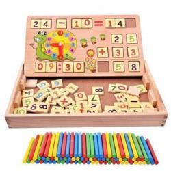 Bộ toán học bằng gỗ