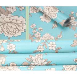 5m giấy dán tường hoa cúc xanh