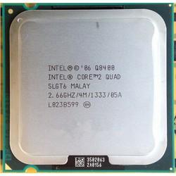 CPU intel Core 2 Quad Q8400 2.66GHz, 4MB L2 Cache