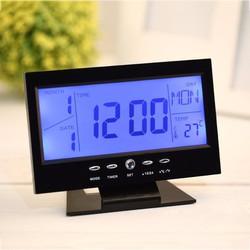 Đồng Hồ Để Bàn LCD LED MS8082 - Đồng hồ 8082
