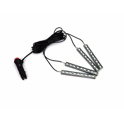Bộ đèn led 4 dây trang trí xe