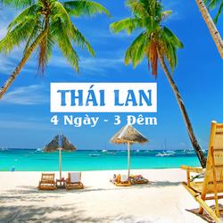 Tour Thái Lan 4 Ngày - 3 Đêm chỉ từ 5.29 triệu