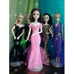 Váy hồng cho búp bê