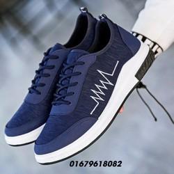 giày nam thời trang, giày lười  heartbeat  Hàn quốc mới HNN290