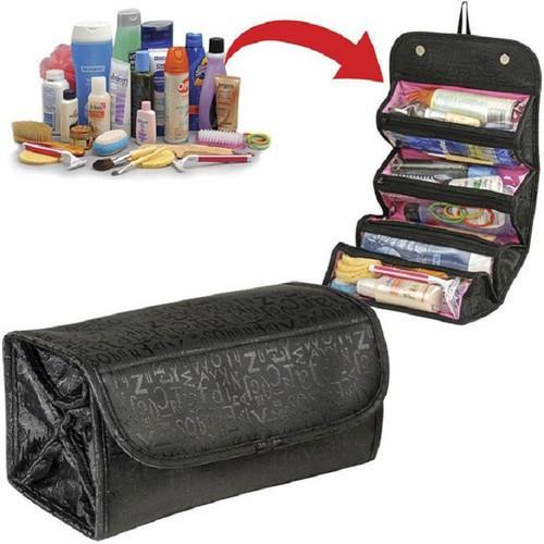 Túi đựng mỹ phẩm du lịch nhiều ngăn chống thấm Roll-N-Go Cosmetic - 10599950 , 6164303 , 15_6164303 , 115000 , Tui-dung-my-pham-du-lich-nhieu-ngan-chong-tham-Roll-N-Go-Cosmetic-15_6164303 , sendo.vn , Túi đựng mỹ phẩm du lịch nhiều ngăn chống thấm Roll-N-Go Cosmetic