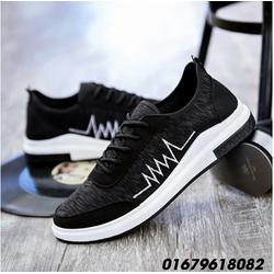 giày nam thời trang, giày lười heartbeat Hàn quốc mới HNN291